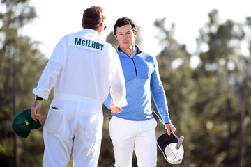 Rory McIlroy J-p Fitzgerald The Masters - Final Round