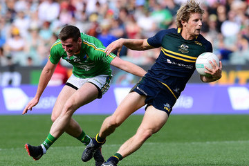 Rory Sloane Australia v Ireland - International Rules Series: Game 1
