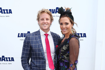Rory Sloane Celebrities Attend Melbourne Cup Day