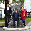Ros Morgan Game Of Thrones Iron Statue Launch - Photocall