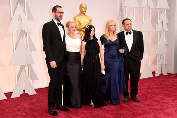Rosanna Arquette Eric White Arrivals at the 87th Annual Academy Awards — Part 3