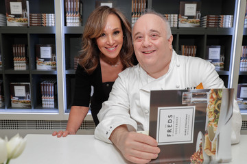 Rosanna Scotto Barneys New York And Chef Mark Strausman Celebrate The Freds At Barneys New York Cookbook