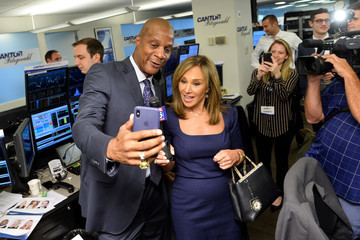 Rosanna Scotto Annual Charity Day Hosted By Cantor Fitzgerald, BGC and GFI - Cantor Fitzgerald Office - Inside