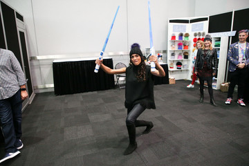 Rosario Dawson Backstage Creations Celebrity Retreat At New York Comic Con - Day 1