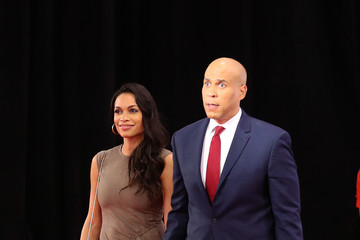 Rosario Dawson Democratic Presidential Candidates Participate In Fourth Debate In Ohio