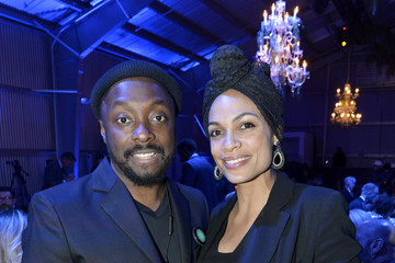 Rosario Dawson will.i.am's i.am.angel Foundation TRANS4M 2018 Gala, Honoring Sean Parker, Chairman, Parker Institute for Cancer Immunotherapy