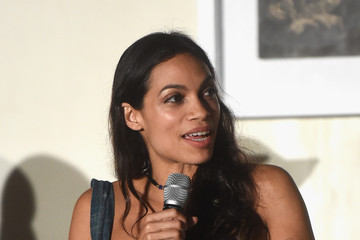 Rosario Dawson Take-Two Interactive Hosts the 'Open Worlds: Art in the Age of Interactivity' Panel in Miami