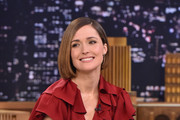 Rose Byrne Visits 'The Tonight Show'