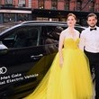 Rose Leslie Audi Celebrates the 2021 Met Gala as the Official Electric Vehicle Partner