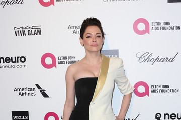 Rose McGowan Arrivals at the Elton John AIDS Foundation Oscars Viewing Party — Part 4