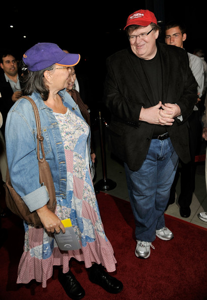 ben thomas roseanne barr. Actress Roseanne Barr and writer/director/producer Michael Moore arrive at Overture Films#39; LA Premiere of quot;Capitalism: A Love Storyquot; held at AMPAS Samuel