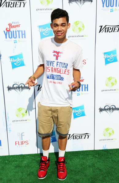 Roshon Fegan - Variety's Power Of Youth Presented By Hasbro And GenerationOn - Arrivals