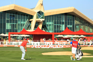 Ross Fisher Abu Dhabi HSBC Golf Championship - Day One