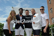 Ross Mathews, George Carrancho, Sean Franklin  and members of Grey NY at D.C. Capital Pride Parade For Marriott International's #LoveTravels Campaign on June 13, 2015 in Washington, DC.