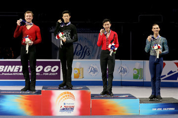 Ross Miner Nathan Chen 2018 Prudential U.S. Figure Skating Championships - Day 4