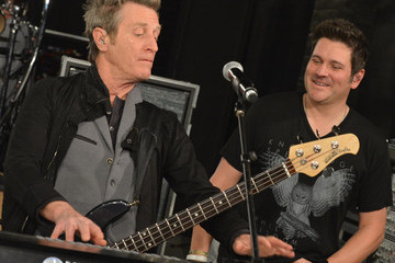 Ross Valory CMT Crossroads: Journey And Rascal Flatts - Rehearsals