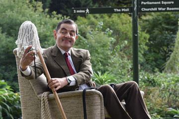 Rowan Atkinson Rowan Atkinson's Mr. Bean Brings Mayhem to the Mall