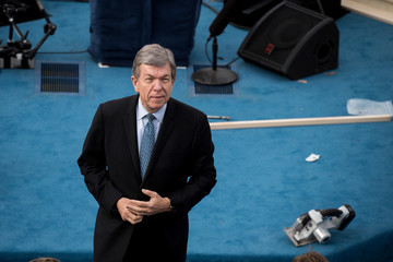 Roy Blunt Washington DC Prepares For Presidential Inauguration