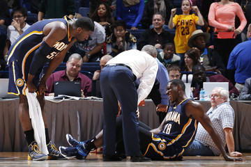 Roy Hibbert Indiana Pacers v Cleveland Cavaliers