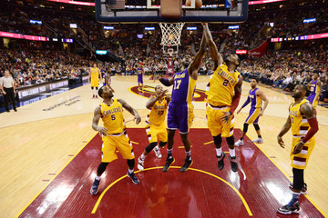 Roy Hibbert Los Angeles Lakers v Cleveland Cavaliers