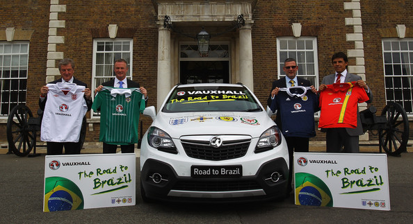 Vauxhall's Road to Brazil Home Nations Managers Press Conference