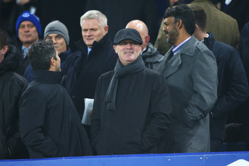Roy Keane Everton v Manchester City - Capital One Cup Semi Final: First Leg