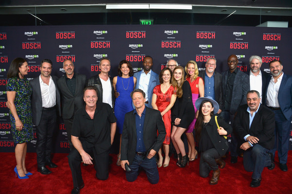 Amazon Red Carpet Premiere Screening For Season Two of 'Bosch' [social group,event,team,premiere,carpet,red carpet,flooring,cast,producers,bosch,california,los angeles,amazon red carpet premiere screening for season two of original drama series,amazon red carpet premiere screening for season two]