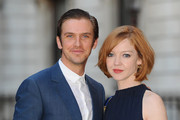 Dan Stevens and Susie Stevens attend the Royal Academy of Arts Summer Exhibition on June 3, 2015 in London, England.