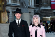 Kelly Osbourne and Jimmy Q attend the Royal Academy of Arts Summer exhibition preview at Royal Academy of Arts on June 04, 2019 in London, England.