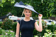 Amy Willerton attends day four of Royal Ascot 2014 at Ascot Racecourse on June 20, 2014 in Ascot, England.