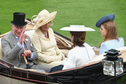 Princess Eugenie and Camilla Parker Bowles Photos Photo