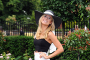 Kimberley Garner attends Day 3 of Royal Ascot at Ascot Racecourse on June 19, 2014 in Ascot, England.