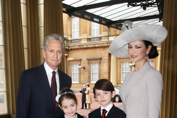 Dylan Michael Douglas Royal Investitures At Buckingham Palace