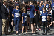 The Royal children (L - R) Princess Isabella, Prince Vincent, Prince Christian and Princess Josephine are ready to  on the starting line to begin the 1.6 KM (1 mile) long tour, Royal Run, on the occasion of the 50th birthday of Crown Prince Frederik on May 21, 2018 in Copenhagen, Denmark. The Royal Run takes place in the cities Aalborg, Aarhus, Esbjerg, Odense and Copenhagen and more than 70.000 people are expected to participate during the day long sports event. The Crown Prince himself will run in all five cities.The last city of the day is Copenhagen, where he will run together with some 40.000 people.