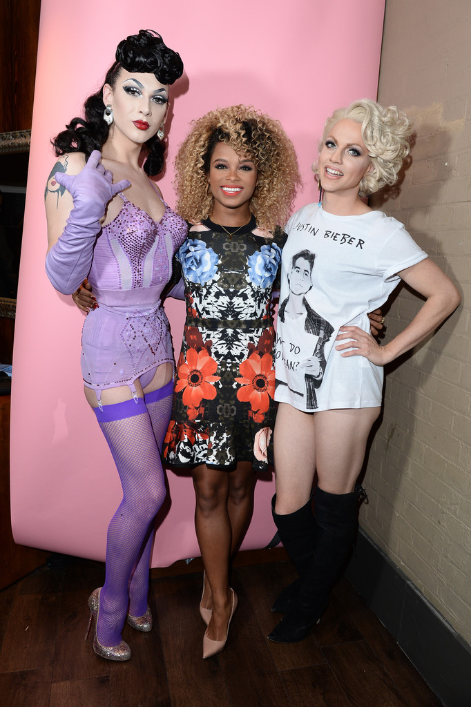 Courtney Act, Fleur East, Violet Chachki
