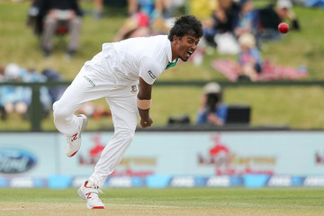 Rubel Hossain New Zealand v Bangladesh - 2nd Test: Day 2