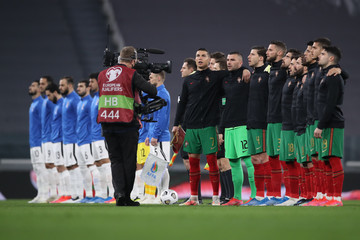 Ruben Neves Anthony Lopes Portugal v Azerbaijan - FIFA World Cup 2022 Qatar Qualifier