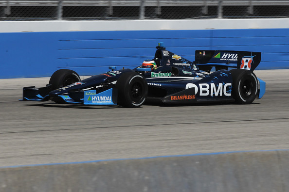 Rubens Barrichello - Milwaukee IndyFest 225 - Day 1