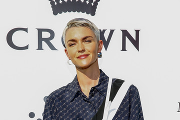Ruby Rose 2019 Crown IMG Tennis Party