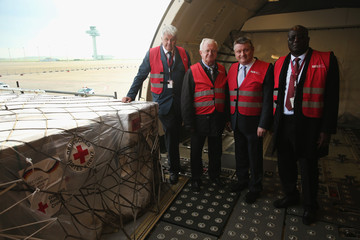 Rudolf Seiters German Red Cross Launches Ebola Aid