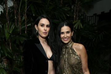 "Rumer Willis Demi Moore Vanity Fair And Saint Laurent Celebrate The Cast Of ""Parasite"""