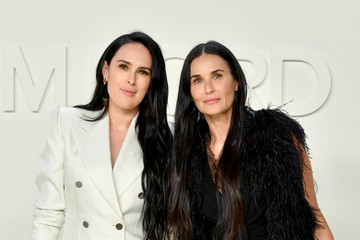 Rumer Willis Demi Moore Tom Ford AW20 Show - Arrivals