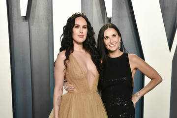 Rumer Willis Demi Moore 2020 Vanity Fair Oscar Party Hosted By Radhika Jones - Arrivals