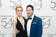 (L-R) Rumer Willis and Tye Blue attend 54 Below on November 4, 2015 in New York City.