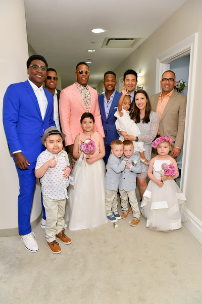 Runway Heroes Walk With The Yankees At Kleinfeld
