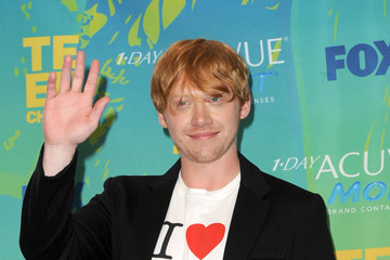 Rupert Grint 2011 Teen Choice Awards - Press Room
