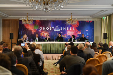 Rupert Sanders 'Ghost In The Shell' Paris Press Conference