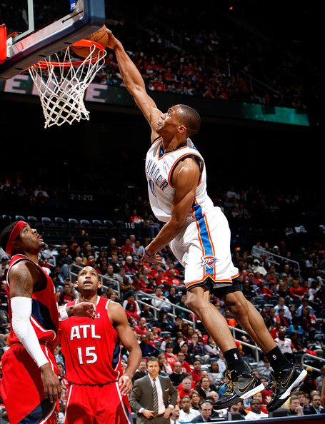 russell westbrook dunking. Russell Westbrook and Al