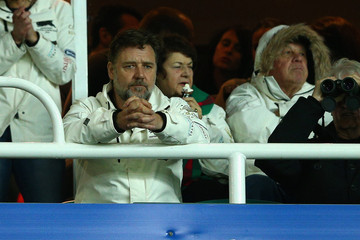 Russell Crowe NRL Rd 26 - Roosters v Rabbitohs