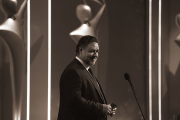 Russell Crowe 7th AACTA Awards Presented by Foxtel | Backstage